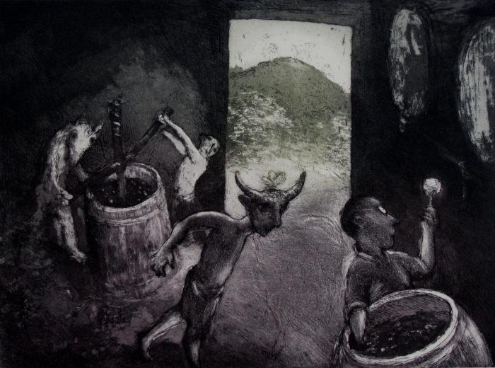 Garry Shead - Dionysis at Pokolbin