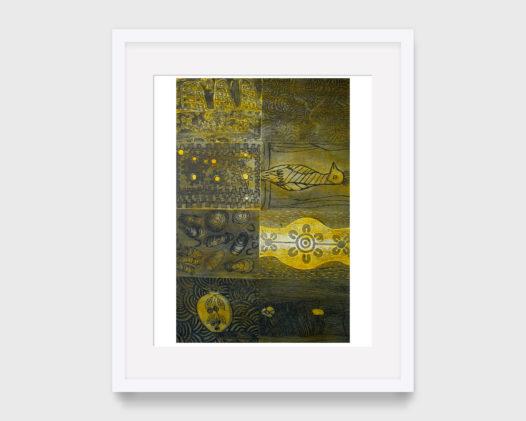 Desert Mob 20th Anniversary Print Panel (Yellow Panel)