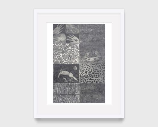 Desert Mob 20th Anniversary Print Panel (Grey Panel)