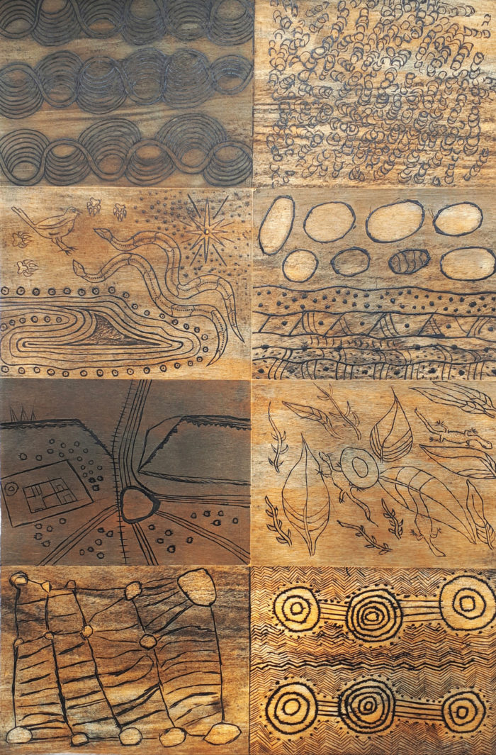 Desert Mob 20th Anniversary Print Panel (Full Set)