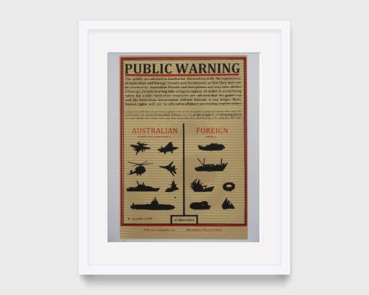 Basil Hall -War Poster