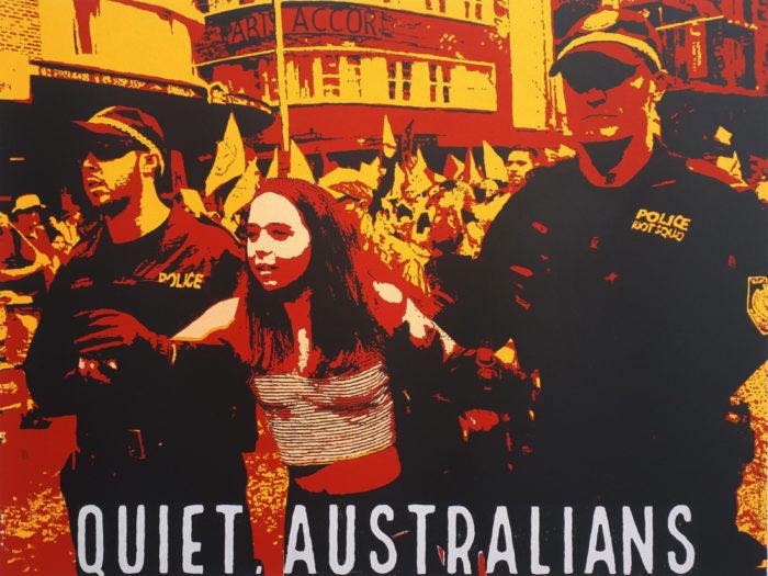 Basil Hall - Quiet, Australians